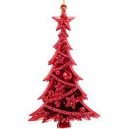 Елочные украшения Winter Wings Елка красный 15 см 1 шт