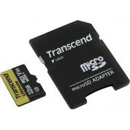 Карта памяти Micro SDHC 32GB Class 10 Transcend TS32GUSDU3M