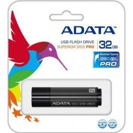 Флешка USB 32Gb A-Data S102 USB3.0 AS102P-32G-RGY черный