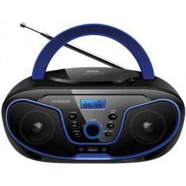 Магнитола Hyundai H-PCD160 черный/синий