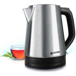 Чайник Vitek VT-7040(ST) 2200 Вт серебристый чёрный 1.7 л нержавеющая сталь