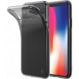 Накладка LAB.C Slim Soft для iPhone X прозрачный чёрный LABC-197-BK