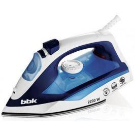 Утюг BBK ISE-2201 2200Вт белый синий