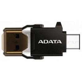 Картридер внешний A-Data ACMR3PL-OTG-RBK черный