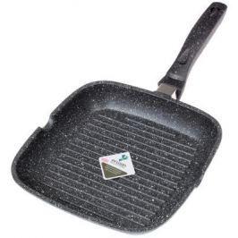 Сковорода-гриль Supra Tedory SAD-T2828G прямоугольная ручка несъемная (без крышки) темно-серый (SAD-T2828G MARBLE)