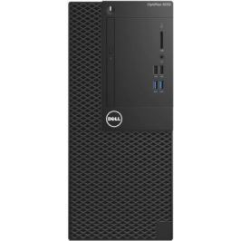 Системный блок DELL Optiplex 3050 i5-6500 3.2GHz 4Gb 500Gb HD530 DVD-RW Win10Pro клавиатура мышь черный 3050-6324