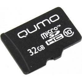 Карта памяти Micro SDHC 32Gb class 10 QUMO QM32GMICSDHC10NA