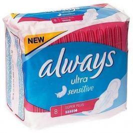 """Прокладки впитывающие Always """"Ultra Sensitive - Super Plus Single"""" 8 шт AL-83716106S"""