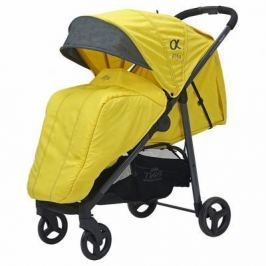 Коляска прогулочная Rant Alfa (alu. yellow)