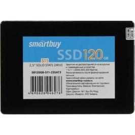 """Твердотельный накопитель SSD 2.5"""" 120GB Smartbuy S11 Read 310Mb/s Write 300Mb/s SATAIII SB120GB-S11-25SAT3"""