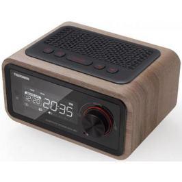Радиобудильник Telefunken TF-1582UB темное дерево