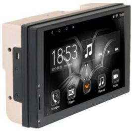 "Автомагнитола Phantom DV-7034 7"" 1024х600 USB MP3 FM 2xDin 4x50Вт черный"