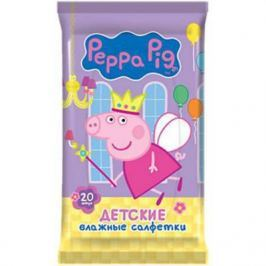 Салфетки влажные Авангард Peppa Pig не содержит спирта влажная 20 шт 30161