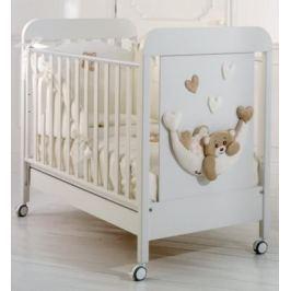 Кроватка Baby Expert Tenerone by Trudi (белый)
