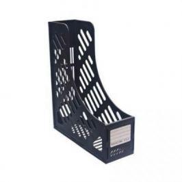 Лоток для бумаг, вертикальный, сборный, 1 секция, черный ST851BK