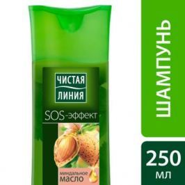 Шампунь Чистая линия SOS-эффект Питание и уход 250 мл