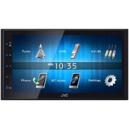 """Автомагнитола JVC KW-M14 6.8"""" 800x480 USB MP3 FM RDS 2DIN 4x50Вт черный"""