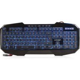 Клавиатура проводная Crown CMKG-401 USB черный
