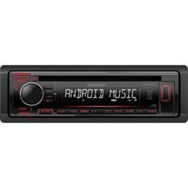 Автомагнитола Kenwood KDC-120UR USB MP3 CD FM RDS 1DIN 4х50Вт черный