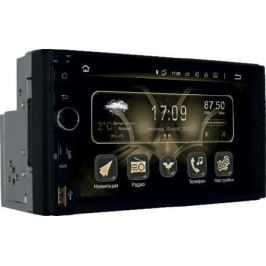 "Автомагнитола Phantom DV-7033 7"" 1024х600 USB MP3 FM 2xDin 4x50Вт черный"