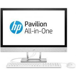 """Ноутбук 23.8"""" HP 24-r021ur 1920 x 1080 Intel Core i7-7700T 8Gb 1Tb Intel HD Graphics 630 DOS белый 2mj46ea"""