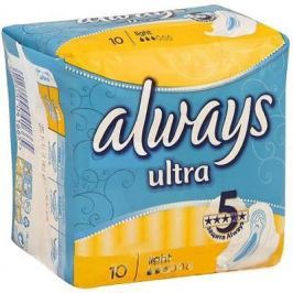 "Прокладки впитывающие Always ""Ultra Light Single"" 10 шт AL-83715773S"