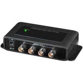 Усилитель-разветвитель видеосигнала HDCVI/HDTVI/AHD SC&T CD104HD