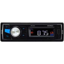 Автомагнитола Supra SFD-25U USB MP3 FM 1DIN 4x40Вт черный