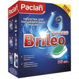 Paclan Brileo Таблетки для посудомоечных машин CLASSIC 80 шт
