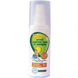 МОЕ СОЛНЫШКО Спрей от комаров детский защитный 100мл