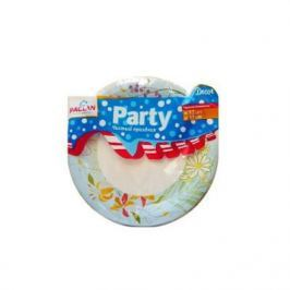 PACLAN Party Тарелка бумаж Decor цветная 230мл 12шт/уп