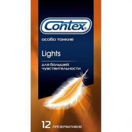 CONTEX Презервативы №12 Lights особо тонкие