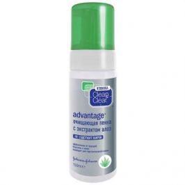 Clean&Clear Advantage Очищающая пенка с экстрактом алоэ 150мл