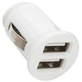 Автомобильное зарядное устройство Digma DCN-12U2W USB 1A белый