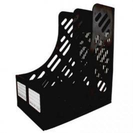 Лоток для бумаг, вертикальный, сборный, 2 секции, черный ST852BK