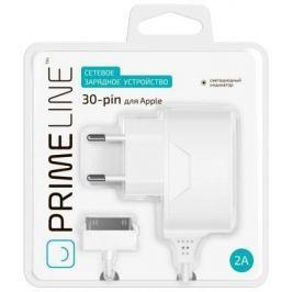 Сетевое зарядное устройство Prime Line 2308 30-pin Apple 2.1A белый