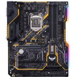 Материнская плата ASUS TUF Z370-PLUS GAMING Socket 1151 v2 Z370 4xDDR4 2xPCI-E 16x 4xPCI-E 1x 6 ATX Retail