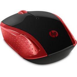 Мышь беспроводная HP 200 Emprs красный чёрный USB 2HU82AA