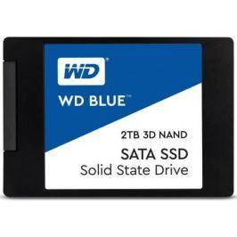 "Твердотельный накопитель SSD 2.5"" 2Tb Western Digital Blue Read 560Mb/s Write 530Mb/s SATAIII WDS200T2B0A"