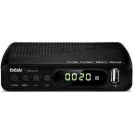 Тюнер цифровой DVB-T2 BBK SMP145HDT2 черный