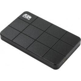 """Внешний контейнер для HDD 2.5"""" SATA AgeStar 3UB2P1C USB3.0 черный"""