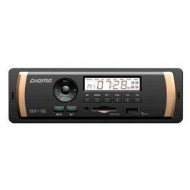 Автомагнитола Digma DCR-110G24 USB MP3 FM 1DIN 4x45Вт черный