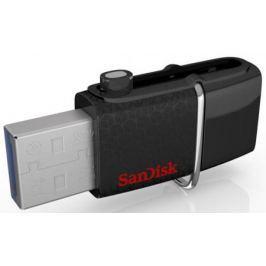 Флешка USB 256Gb Sandisk Ultra Android Dual USB SDDD2-256G-GAM46 черный