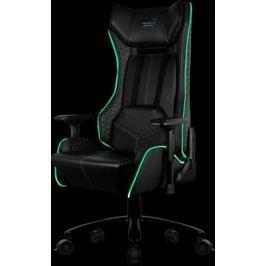 Кресло компьютерное игровое Aerocool P7-GC1 AIR RGB черное 4713105967760