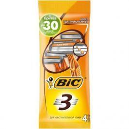Бритвенный станок BIC Sensitive 4