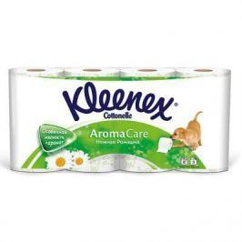 Бумага туалетная Kleenex Нежная ромашка 3-ех слойная 8 шт 9450168