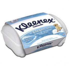 Влажная туалетная бумага Kleenex CleanCare влажная гипоаллергенные 42 шт 9440090