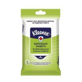 Салфетки влажные Kleenex Бережная Защита не содержит спирта влажная гипоаллергенные 10 шт 9440215