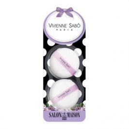 VS Набор велюровых спонжей для макияжа (2 шт.)/Velour makeup sponges set/ Kit de eponges de maquillage en velours