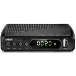 Тюнер цифровой DVB-T2 BBK SMP145HDT2 серый